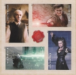 Stamps : America : United_States :  Harry Potter y sus enemigos