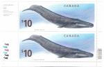 de America - Canadá -  Ballena azul