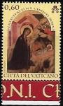 Stamps : Europe : Vatican_City :  Navidad 2011