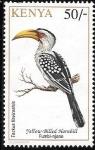 sello : Africa : Kenya : aves
