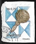 de America - Brasil -  Instrumento Musical - Chocallo