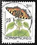 de Europa - Noruega -  Mariposas - Aglais urticae