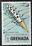 de America - Granada -  Juegos Panamericanos - Barcos a remo