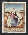 de Europa - Hungría -  2011 - Pintura de Raphael