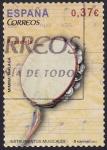 Sellos de Europa - España -  Pandereta