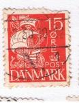 Sellos del Mundo : Europa : Dinamarca : Dinamarca 5