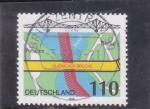 Stamps : Europe : Germany :  Glienicke Bridge, Berlin
