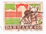 Sellos del Mundo : Europa : Dinamarca : Jaegersborg Dyrehave 300 ar