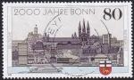Stamps : Europe : Germany :  2000 años Bonn
