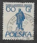 Sellos del Mundo : Europa : Polonia : 674 - Monumento a Adam Mickiewicz
