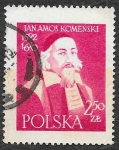Sellos del Mundo : Europa : Polonia : 794 - Jan A. Komensky