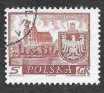 Sellos del Mundo : Europa : Polonia : 947 - Ciudades Históricas