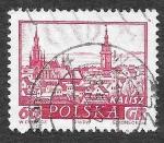 Sellos del Mundo : Europa : Polonia : 952 - Ciudades Históricas