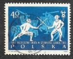 Sellos de Europa - Polonia -  1147 - XXVIII Campeonato del Mundo de Esgrima