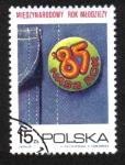 Sellos del Mundo : Europa : Polonia : Año de la juventud