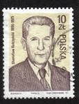 Stamps : Europe : Poland :  S. Kulczynski (1895-1975), científico, líder del partido