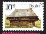 Sellos del Mundo : Europa : Polonia : Arquitectura en India