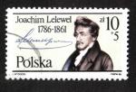 Sellos del Mundo : Europa : Polonia : Joachim Lelewel (1786-1861)