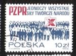 Sellos de Europa - Polonia -  Partido de los Trabajadores Unidos de Polonia, X Congreso