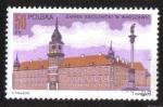 Sellos del Mundo : Europa : Polonia : Royal Castle, Warsaw