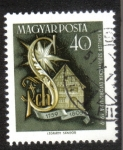 Stamps : Europe : Hungary :  Haydn and Schiller