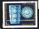 Sellos del Mundo : Europa : Hungría : Centenario, Obras de vidrio de Ajka