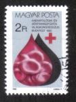 Sellos del Mundo : Europa : Hungría : 25 aniversario de la OMS, Congreso Mundial de Hematología, Budapest
