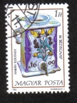 Stamps : Europe : Hungary :  Día del Sello