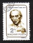 Sellos del Mundo : Europa : Hungría : György Lukács, filósofo comunista, educador