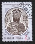 Sellos del Mundo : Europa : Hungría : Reyes de Hungría (1986-88), Géza I (1074-1077)