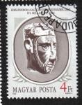 Sellos del Mundo : Europa : Hungría : Reyes de Hungría (1986-88), Béla III (1172-1196)