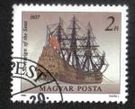 Sellos del Mundo : Europa : Hungría : Barcos (1988), Soberano de los mares
