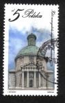 Stamps : Europe : Poland :  Edificios religiosos, Iglesia protestante, Varsovia