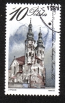 Stamps : Europe : Poland :  Edificios religiosos, Iglesia de San Andrés, Cracovia