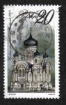 Stamps : Europe : Poland :  Edificios religiosos, Iglesia Ortodoxa, Varsovia