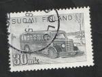 Sellos de Europa - Finlandia -  316 - Autobús