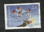 Sellos de Europa - Finlandia -  1240 - Navidad, reno