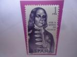 Sellos de Europa - España -  Ed:1752 - José A. Manso de Velasco (1588-1767) - Serie:Exploradores y Colonizadores de América.