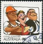 Sellos de Oceania - Australia -  Trade Unions
