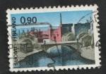 Stamps Finland -  610 - Puente Hamcen, en Tampere