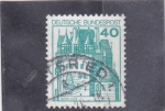 Stamps Germany -  Castillo de Eltz