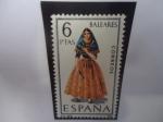 Sellos de Europa - España -  Ed:1773-Costumbres Regionales-BALEARES- Serie:Trajes Regionales.