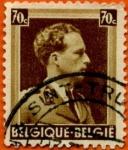 Sellos de Europa - Bélgica -  Rey