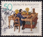 Stamps Germany -  oficina de telégrafos