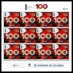 Sellos de America - Colombia -  RECONOCIMIENTO AL PRIMER CENTENARIO DEL INSTITUTO NACIONAL DE SALUD DE COLOMBIA