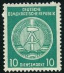 Sellos de Europa - Alemania -  Escudo DDR