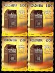 Sellos de America - Colombia -  AMÉRICA UPAEP 2011- BUZONES