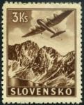 Sellos del Mundo : Europa : Eslovaquia : Aviacion
