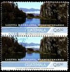 Sellos de America - Guatemala -  LAGUNA MAGDALENA, HUEHUETENANGO