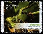Sellos de America - Guatemala -  ANIMALES EN PELIGRO DE EXTINCIÓN